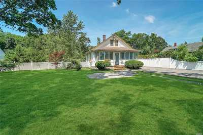 Suffolk County Single Family Home For Sale: 56 Orchard Rd