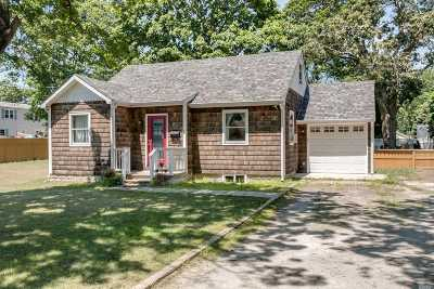 Patchogue Single Family Home For Sale: 4 Bolton Dr