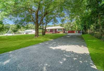 Suffolk County Single Family Home For Sale: 37 Sebonac Rd