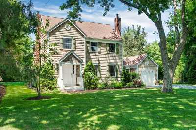 Suffolk County Single Family Home For Sale: 21 Halsey Rd