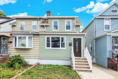 Queens County Single Family Home For Sale: 103-06 Plattwood Ave
