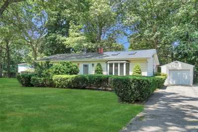 Suffolk County Single Family Home For Sale: 7 President Rd