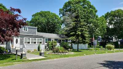 Shirley NY Single Family Home For Sale: $399,000