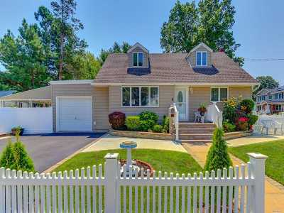 Wantagh NY Single Family Home For Sale: $649,000
