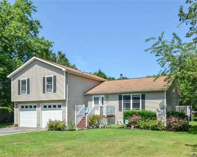 Cutchogue Single Family Home For Sale: 80 Horseshoe Dr