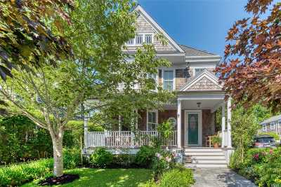 Greenport Single Family Home For Sale: 611 1st St
