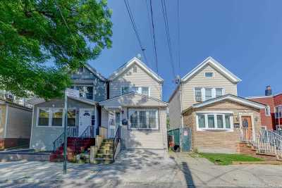 Woodhaven Single Family Home For Sale: 86-12 77th St