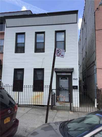 Brooklyn Multi Family Home For Sale: 1943 Prospect Pl