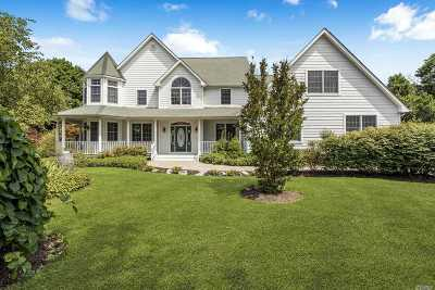 Peconic Single Family Home For Sale: 345 Richmond Ln
