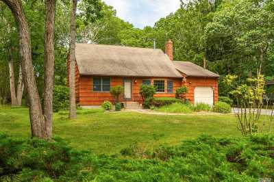 E. Quogue Single Family Home For Sale: 12 Squires Ave