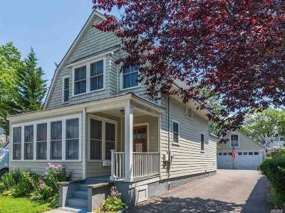 Oyster Bay Single Family Home For Sale: 71 Maxwell Ave