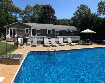 Hampton Bays Single Family Home For Sale: 3 Anderson Rd