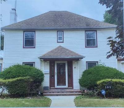 Hempstead Single Family Home For Sale: 107 Manor Ave