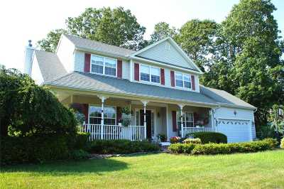Moriches Single Family Home For Sale: 42 James Hawkins Rd