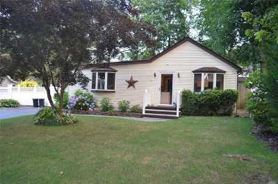 Selden Single Family Home For Sale: 110 Wyona Ave