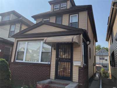 Elmhurst Single Family Home For Sale: 94-20 52 Ave