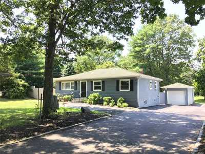Hauppauge Single Family Home For Sale: 316 Lincoln Blvd
