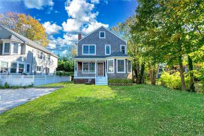 Greenport Single Family Home For Sale: 311 Bridge St