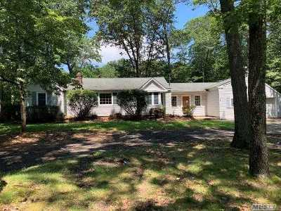 Middle Island Single Family Home For Sale: 11 Half Mile Rd