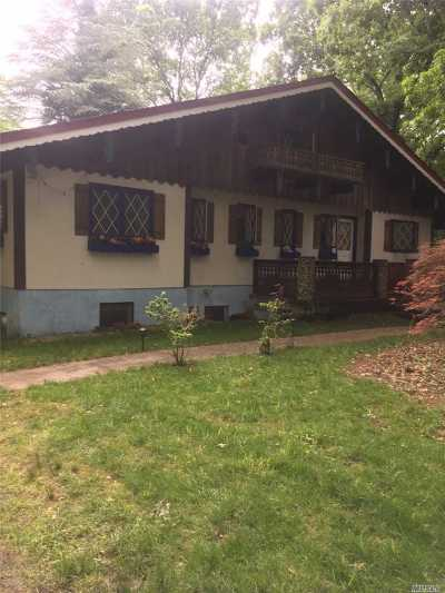 Middle Island Single Family Home For Sale: 36 Middle Island Blvd