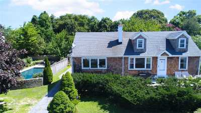 Sag Harbor Single Family Home For Sale: 68 Cliff Dr