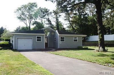 Shoreham Single Family Home For Sale: 27 Bradley Dr