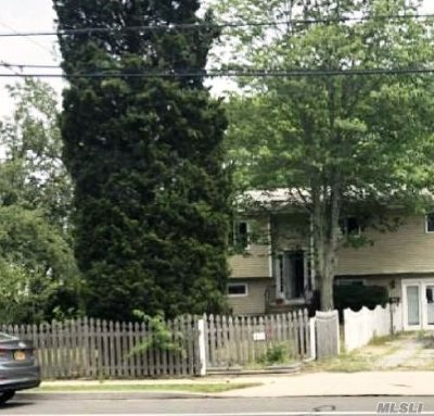 W. Sayville Single Family Home For Sale: 453 Montauk Hwy