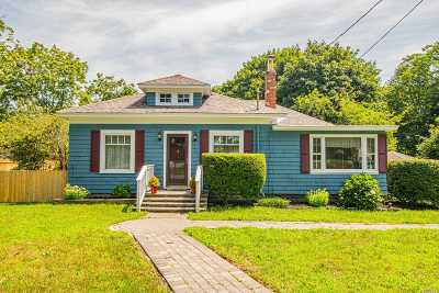 Center Moriches Single Family Home For Sale: 57 Chichester Ave