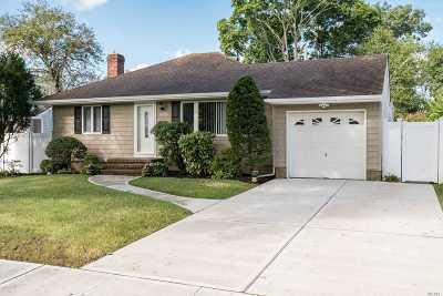 Wantagh Single Family Home For Sale: 1526 Carroll St