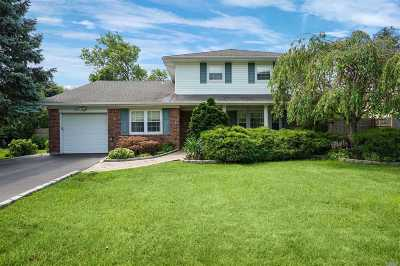 Smithtown Single Family Home For Sale: 62 Hofstra Dr
