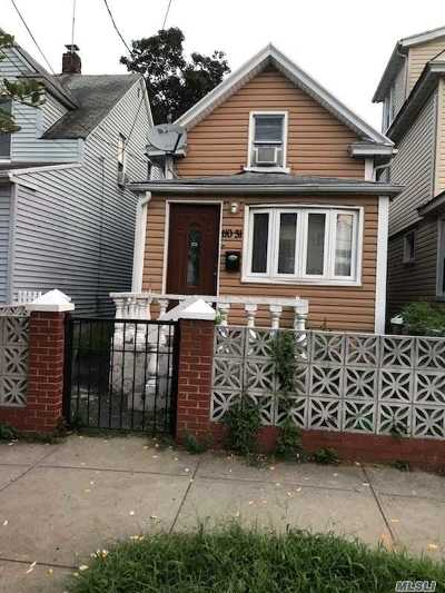 Jamaica NY Single Family Home For Sale: $525,000