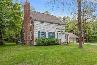 Bridgehampton Single Family Home For Sale: 1981 Montauk Highway