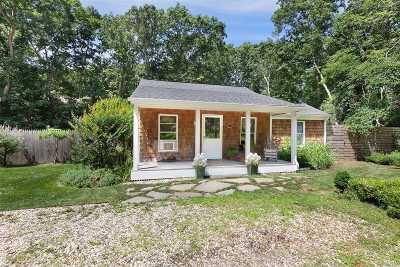 Southampton Single Family Home For Sale: 23 Robinson Rd