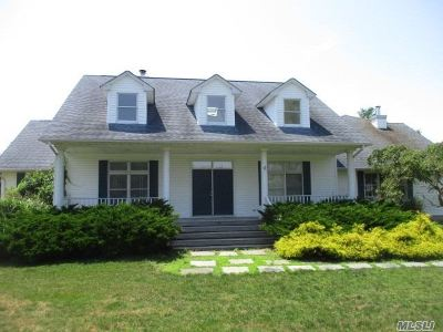East Moriches Single Family Home For Sale: 26 Tuthill Point Rd