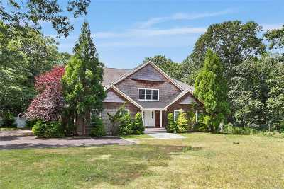 Hampton Bays Single Family Home For Sale: 4 Woodview Way