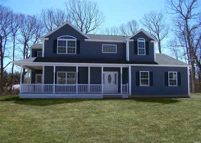 Lake Grove Single Family Home For Sale: Lot 2 Valmont Ct