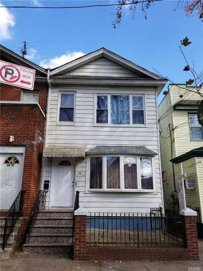 Flushing Multi Family Home For Sale: 4815 98th St