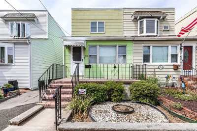 Flushing Single Family Home For Sale: 33-18 Jordan St