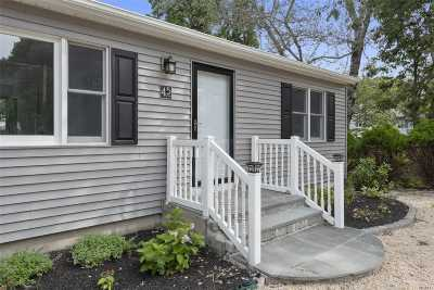 Hampton Bays Single Family Home For Sale: 45 North Rd