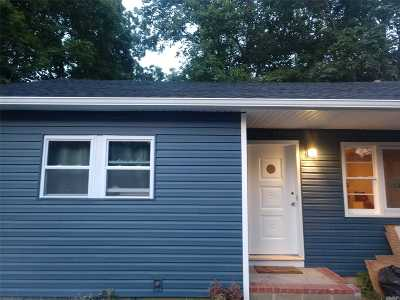 Mastic Beach Single Family Home For Sale: 65 Whittier Dr