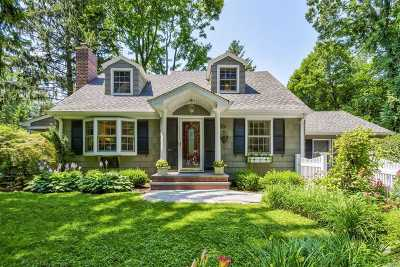 Locust Valley Single Family Home For Sale: 40 Maple Ave