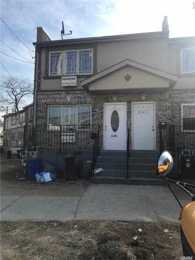 Far Rockaway Multi Family Home For Sale: 2405 Brookhaven Ave
