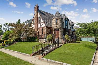 Jamaica Estates Single Family Home For Sale: 181-03 Kildare Rd