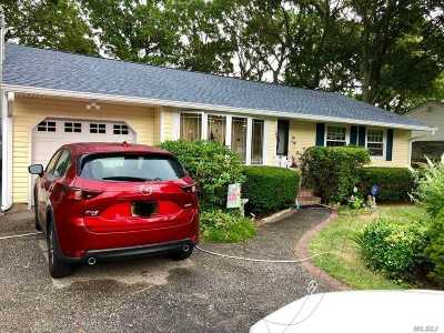 Farmingville Single Family Home For Sale: 1145 Waverly Ave