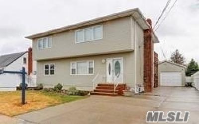 Massapequa Single Family Home For Sale: 128a Cleveland Ave