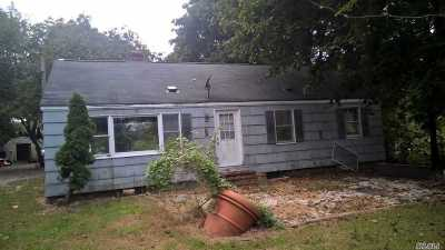 Hampton Bays Single Family Home For Sale: 23 Newtown Rd