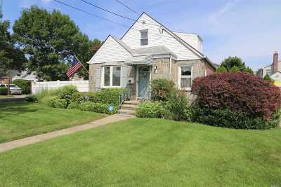 Franklin Square Single Family Home For Sale: 124 Carl Ave