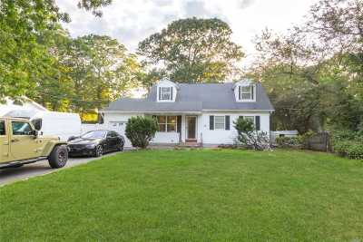 Middle Island Single Family Home For Sale: 52 W Bartlett Rd