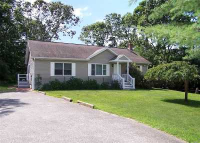 Sag Harbor Single Family Home For Sale: 85 Collingswood Dr
