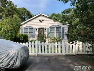 Hampton Bays Single Family Home For Sale: 3 Sunset St